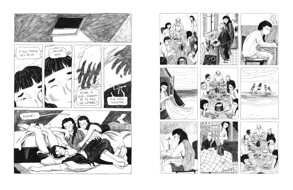 """Lucie Quémener, """"Baume du Tigre"""", 2020 (planches)."""