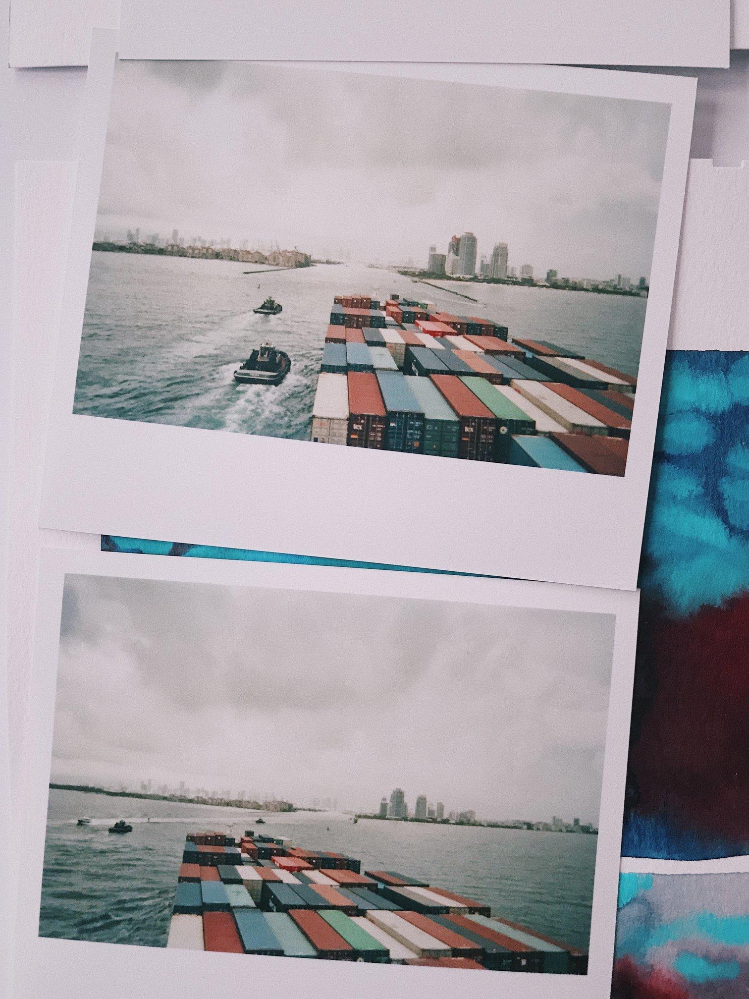 L'arrivée à Miami