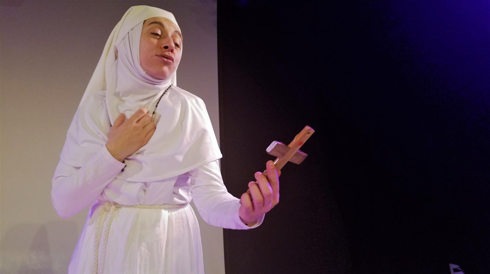 Sister Antinonne, April 2021. Photo: Aline Hémagi Fernande.