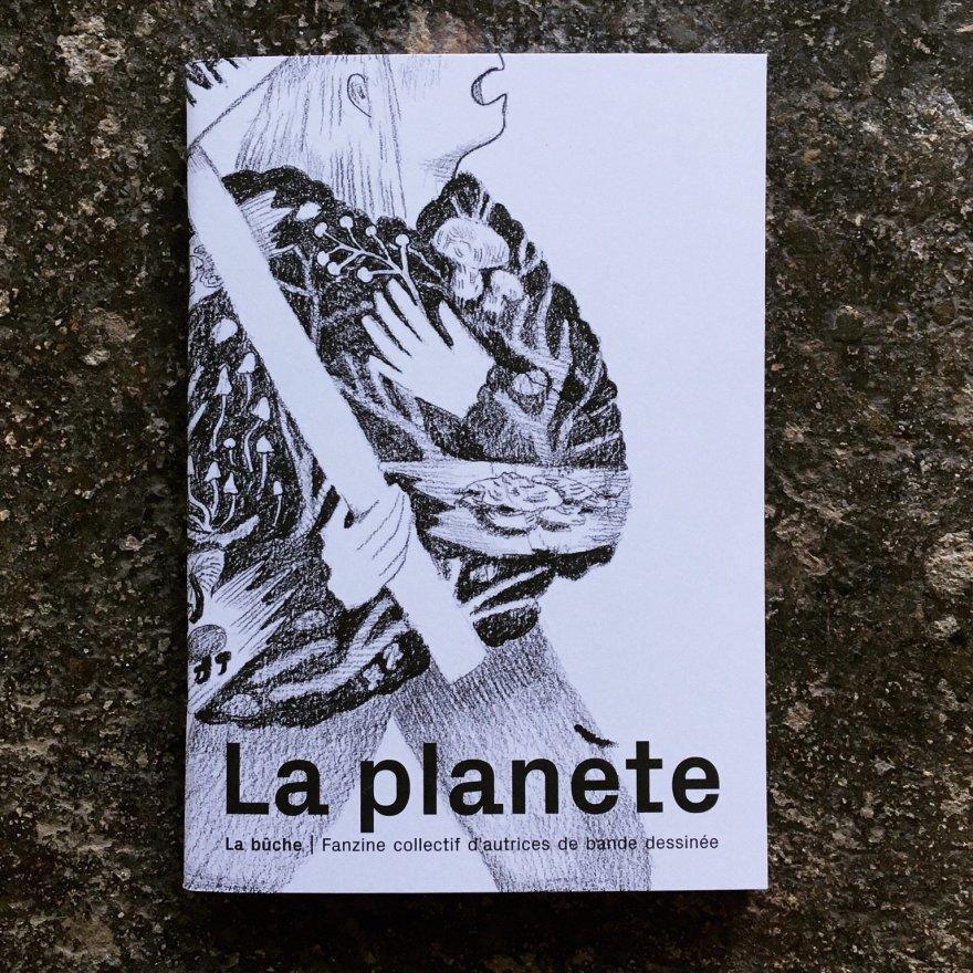 """Fanzine """"La Planète"""" du collectif La Bûche, 2020."""
