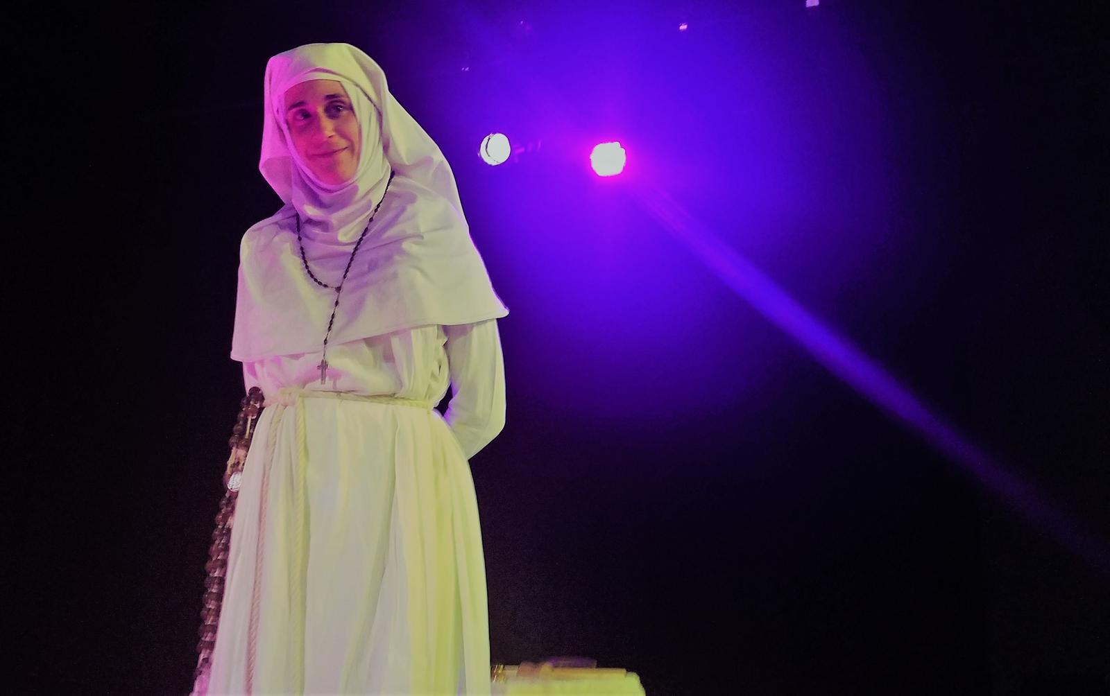 Sister Nocciolina, April 2021. Photo: Aline Hémagi Fernande.